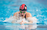 Picture by Allan McKenzie/SWpix.com - 15/12/2017 - Swimming - Swim England Winter Championships - Ponds Forge International Sports Centre, Sheffield, England - Corrie Scott races in the womens open 200m breaststroke.