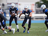 Zach Cieslo (83) - Norland Vikings (Miami) vs IMG Academy Football on October 26, 2019 at IMG Academy in Bradenton, Florida.  (Mike Janes Photography)