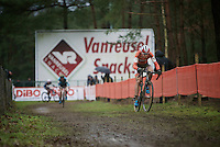 Thalita Dejong (NLD/Rabo-Liv) leading the race and on her way becoming world champion<br /> <br /> Elite Women's race<br /> UCI 2016 cyclocross World Championships