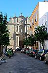 Fifteenth century church of St Mateo in Tarifa, Cadiz province, Spain