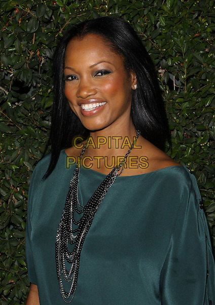 "GARCELLE BEAUVAIS-NILON.""Capitalism: A Love Story"" Los Angeles Premiere held At AMPAS Samuel Goldwyn Theater, Beverly Hills, California, USA..September 15th, 2009.half length black green top necklaces .CAP/ADM/KB.©Kevan Brooks/AdMedia/Capital Pictures."