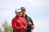 Joshua McMahon (Wallasey) on the 4th tee during Round 3 of the Lytham Trophy, held at Royal Lytham & St. Anne's, Lytham, Lancashire, England. 05/05/19<br /> <br /> Picture: Thos Caffrey / Golffile<br /> <br /> All photos usage must carry mandatory copyright credit (© Golffile | Thos Caffrey)