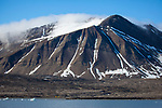 Tents and kayaks, Isjforden, Svalbard