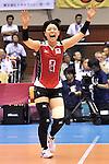 otoki Zayasu (JPN),<br /> AUGUST 17, 2013 - Volleyball :<br /> 2013 FIVB World Grand Prix, Preliminary Round Week 3 Pool M match Japan 1-3 United States at Sendai Gymnasium in Sendai, Miyagi, Japan. (Photo by Ryu Makino/AFLO)