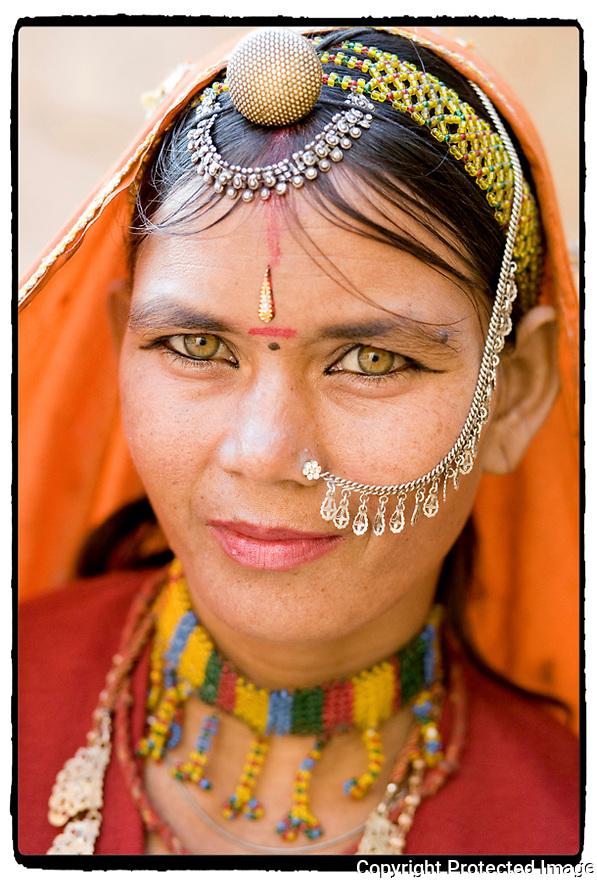 Inde- sur la route de Agra.