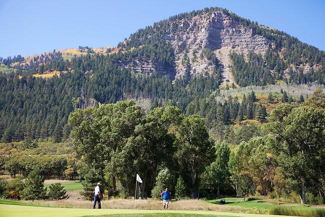 Golf Course, Tamarron Resort near Durango, Colorado