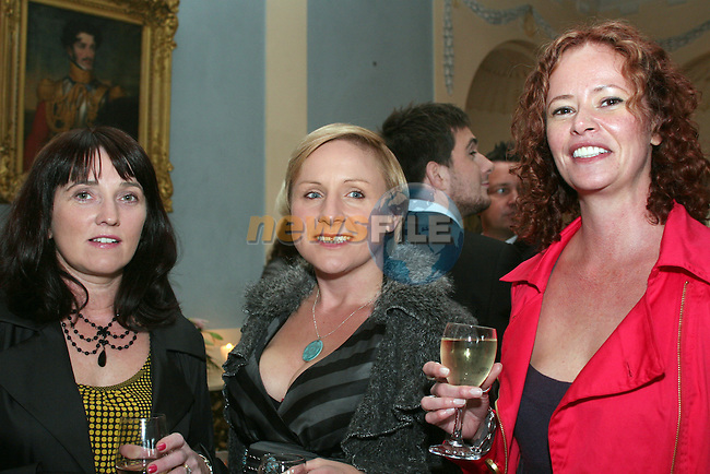 Geraldine and Carol Tully with Mags Doheny at the Fashion Show in Slane Castle in aid of Stackallen Tennis and Pitch and Putt Club and supporting Action Breast Cancer...Photo NEWSFILE/Jenny Matthews.(Photo credit should read Jenny Matthews/NEWSFILE)....This Picture has been sent you under the condtions enclosed by:.Newsfile Ltd..The Studio,.Millmount Abbey,.Drogheda,.Co Meath..Ireland..Tel: +353(0)41-9871240.Fax: +353(0)41-9871260.GSM: +353(0)86-2500958.email: pictures@newsfile.ie.www.newsfile.ie.FTP: 193.120.102.198.