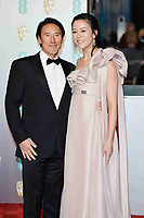 LONDON, UK - FEBRUARY 10: Jimmy Chin and Elizabeth Chai Vasarhelyi at the 72nd British Academy Film Awards held at Albert Hall on February 10, 2019 in London, United Kingdom. Photo: imageSPACE/MediaPunch<br /> CAP/MPI/IS<br /> ©IS/MPI/Capital Pictures