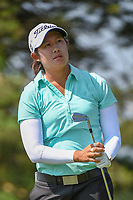 Sandra Changkija (USA) watches her tee shot on 3 during round 3 of the 2018 KPMG Women's PGA Championship, Kemper Lakes Golf Club, at Kildeer, Illinois, USA. 6/30/2018.<br /> Picture: Golffile | Ken Murray<br /> <br /> All photo usage must carry mandatory copyright credit (&copy; Golffile | Ken Murray)