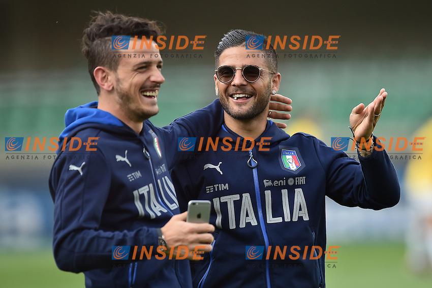 Alessandro Florenzi, Lorenzo Insigne Italia<br /> Verona 06-06-2016 Stadio Bentegodi Football Friendly Match Italia - Finlandia / Italy - Finland . Foto Andrea Staccioli / Insidefoto