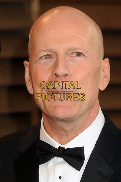 02 March 2014 - West Hollywood, California - Bruce Willis. 2014 Vanity Fair Oscar Party following the 86th Academy Awards held at Sunset Plaza.  <br /> CAP/ADM/BP<br /> &copy;Byron Purvis/AdMedia/Capital Pictures