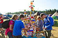 Tower of Lego in Spring town. Photo: Magnus Fröderberg/Scouterna