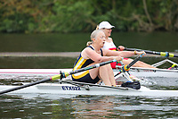 Race: 23  W.MasF.1x  Quarter-Final<br /> 339  Tideway Scullers School (Lawrence)<br /> 340  Eton Excelsior Rowing Club (Arion)<br /> <br /> Henley Masters Regatta 2018 - Friday<br /> <br /> To purchase this photo, or to see pricing information for Prints and Downloads, click the blue 'Add to Cart' button at the top-right of the page.