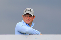 Jamie Donaldson (WAL) on the 5th tee during Round 2 of the Betfred British Masters 2019 at Hillside Golf Club, Southport, Lancashire, England. 10/05/19<br /> <br /> Picture: Thos Caffrey / Golffile<br /> <br /> All photos usage must carry mandatory copyright credit (&copy; Golffile | Thos Caffrey)