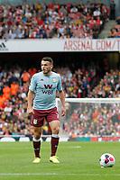 John McGinn of Aston Villa during the Premier League match between Arsenal and Aston Villa at the Emirates Stadium, London, England on 22 September 2019. Photo by Carlton Myrie / PRiME Media Images.