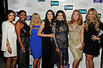 From left: Pegah Pourasef, Dr. Ashandra Batiste, Rachel Suliburk, Dr. Erika Sato, Dr. Monica Patel, Cindi Rose and Dr. Elly Pourasef at the Married to Medicine Houston premier party at VrSi Thursday Nov. 10, 2016.(Dave Rossman photo)