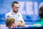 Andre HABER (Trainer SC DHfK Leipzig) \ beim Spiel in der Handball Bundesliga, SG BBM Bietigheim - SC DHfK Leipzig.<br /> <br /> Foto &copy; PIX-Sportfotos *** Foto ist honorarpflichtig! *** Auf Anfrage in hoeherer Qualitaet/Aufloesung. Belegexemplar erbeten. Veroeffentlichung ausschliesslich fuer journalistisch-publizistische Zwecke. For editorial use only.