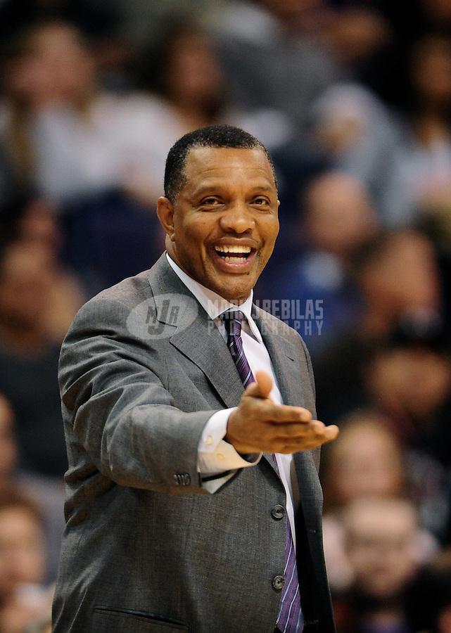 Dec. 8, 2010; Phoenix, AZ, USA; Phoenix Suns head coach Alvin Gentry against the Memphis Grizzlies at the US Airways Center. Mandatory Credit: Mark J. Rebilas-