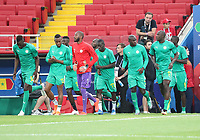 Senegal kommt zum Aufwärmen ins Stadion - 19.06.2018: Polen vs. Senegal, Gruppe H, Spartak Stadium Moskau