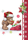Sharon, CHRISTMAS ANIMALS, WEIHNACHTEN TIERE, NAVIDAD ANIMALES, GBSS, paintings+++++,GBSSC50XMCC,#XA#
