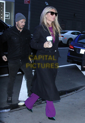 NEW YORK, NY - January 09: Gwyneth Paltrow seen at Good Morning America in New York City on January 09, 2019. <br /> CAP/MPI/RW<br /> ©RW/MPI/Capital Pictures