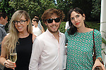 Lizzy Cooperman, Matthew Schum, Rose Surnow==<br /> LAXART 5th Annual Garden Party Presented by Tory Burch==<br /> Private Residence, Beverly Hills, CA==<br /> August 3, 2014==<br /> &copy;LAXART==<br /> Photo: DAVID CROTTY/Laxart.com==