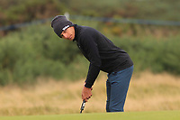 Joakim Lagergren (SWE) on the 14th during Round 4 of the Alfred Dunhill Links Championship 2019 at St. Andrews Golf CLub, Fife, Scotland. 29/09/2019.<br /> Picture Thos Caffrey / Golffile.ie<br /> <br /> All photo usage must carry mandatory copyright credit (© Golffile | Thos Caffrey)