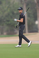 Victor Riu (FRA) on the 3rd fairway during Round 1 of the Omega Dubai Desert Classic, Emirates Golf Club, Dubai,  United Arab Emirates. 24/01/2019<br /> Picture: Golffile | Thos Caffrey<br /> <br /> <br /> All photo usage must carry mandatory copyright credit (&copy; Golffile | Thos Caffrey)