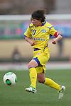 Ami Sugita (Charme), .MARCH 23, 2013 - Football /Soccer : .Plenus Nadeshiko League 2013 .between NTV Beleza 2-0 FC Kibikokusaidaigaku Charme .at Ajinomoto Stadium West Field, Tokyo, Japan. .(Photo by YUTAKA/AFLO SPORT) [1040]