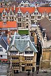 Oxford 2009-03-07. Miasto w południowej Anglli głównie znane jako siedziba Uniwersytetu Oxfordzkiego. Brasenose College.