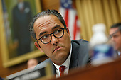 United States Representative Will Hurd (Republican of Texas) questions former Trump-Russia special counsel Robert Mueller as he gives testimony before the United States House Permanent Select Committee on Intelligence on the results of his investigation on Capitol Hill in Washington, DC on Wednesday, July 24, 2019.<br /> Credit: Stefani Reynolds / CNP<br /> (RESTRICTION: NO New York or New Jersey Newspapers or newspapers within a 75 mile radius of New York City)