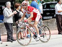 Nico Sijmens during the stage of La Vuelta 2012 between Ponteareas and Sanxenxo.August 28,2012. (ALTERPHOTOS/Acero) /NortePhoto.com<br /> <br /> **CREDITO*OBLIGATORIO** <br /> *No*Venta*A*Terceros*<br /> *No*Sale*So*third*<br /> *** No*Se*Permite*Hacer*Archivo**<br /> *No*Sale*So*third*