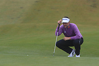 Ian Poulter (ENG) on the 6th green during Round 2 of the Irish Open at LaHinch Golf Club, LaHinch, Co. Clare on Friday 5th July 2019.<br /> Picture:  Thos Caffrey / Golffile<br /> <br /> All photos usage must carry mandatory copyright credit (© Golffile | Thos Caffrey)