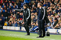Saturday, 9 March 2013<br /> <br /> Pictured: Michael Laudrup Manager of Swansea City and Steve Clarke Head Coach of West Bromwich Albion<br /> <br /> Re: Barclays Premier League West Bromich Albion v Swansea City FC  at the Hawthorns, Birmingham, West Midlands
