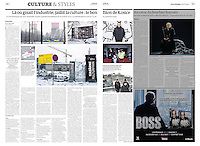 Le Monde (main French daily) on the European Capital of Culture Kosice/Slovakia, 2013.01.03. Photos: Martin Fejer