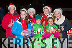 Pupils  from Holy Cross Mercy NS at the lightening of the tree of remembrance on Monday night l-r: Aisling O'Donovan, Aisling Stack, Leah Dickonson, Kinga Macherzmky, Kate O'Sullivan Cassie Davis
