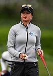 Amy Boulden. McKayson NZ Women's Golf Open, Round Two, Windross Farm Golf Course, Manukau, Auckland, New Zealand, Friday 29 September 2017.  Photo: Simon Watts/www.bwmedia.co.nz