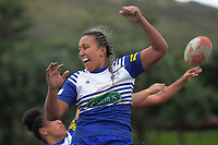 Action from the Wellington premier club rugby Rebecca Liua'ana Trophy match between Northern United and Marist St Pat's at Ngatitoa Domain in Wellington, New Zealand on Saturday, 6 April 2019. Photo: Dave Lintott / lintottphoto.co.nz