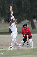 Hornchurch CC vs Buckhurst Hill CC (batting), Essex Cricket League Cricket at Harrow Lodge Park on 25th July 2020