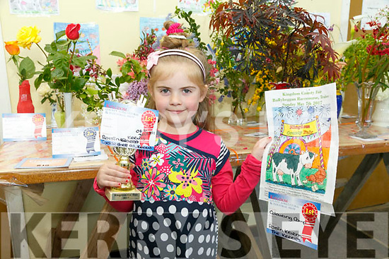 At the Kingdom County Fair in Ballybeggan on Sunday was Roisin Kerins, Kerris Tralee winner of the Colouring Comp
