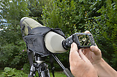 Digiscoping - taking a digital picture through a birder's scope