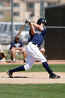 Sawyer Carroll  - San Diego Padres - 2009 spring training.Photo by:  Bill Mitchell/Four Seam Images