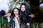 Ruth Lynch and Caroline Lynch enjoying the spooktacular parkrun in Fancy Dress on Saturday
