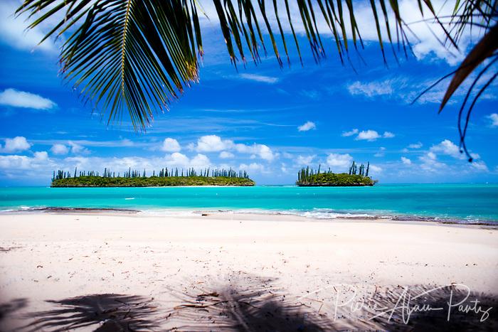ile des pins, plage de Koueney