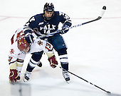 Cam Atkinson (BC - 13), Broc Little (Yale - 14) - The Boston College Eagles defeated the Yale University Bulldogs 9-7 in the Northeast Regional final on Sunday, March 28, 2010, at the DCU Center in Worcester, Massachusetts.