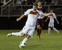 The Winthrop University Eagles played the College of Charleston Cougars at Eagles Field in Rock Hill, SC.  College of Charleston broke the 1-1 tie with a goal in the 88th minute to win 2-1.  Magnus Thorsson (8)