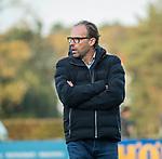 BLOEMENDAAL  - Jan-Piet Nelissen, manager Bl'daal, . , competitiewedstrijd junioren  landelijk  Bloemendaal JA1-Nijmegen JA1 (2-2) . COPYRIGHT KOEN SUYK