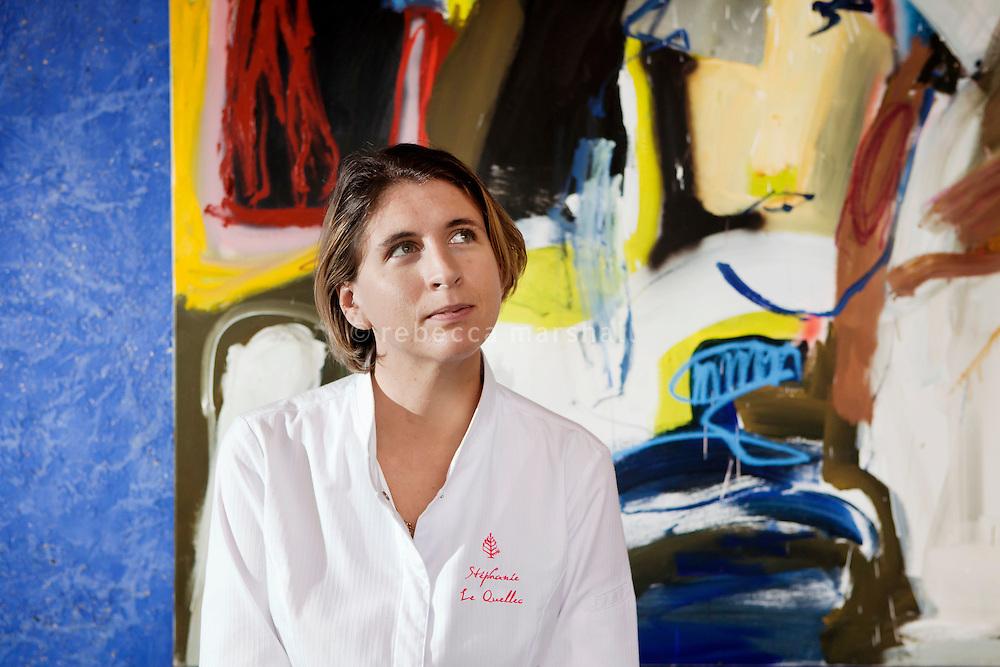 Stephanie le Quellec, head chef of Le Faventia restaurant, Four Seasons Terre Blanche, Tourettes, France 2 December 2011