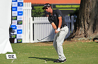Lucas Herbert (AUS) in action on the 18th during Round 2 of the ISPS Handa World Super 6 Perth at Lake Karrinyup Country Club on the Friday 9th February 2018.<br /> Picture:  Thos Caffrey / www.golffile.ie<br /> <br /> All photo usage must carry mandatory copyright credit (&copy; Golffile | Thos Caffrey)