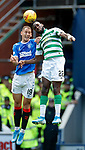 01.09.2019 Rangers v Celtic: Nikola Katic and Odsonne Edouard
